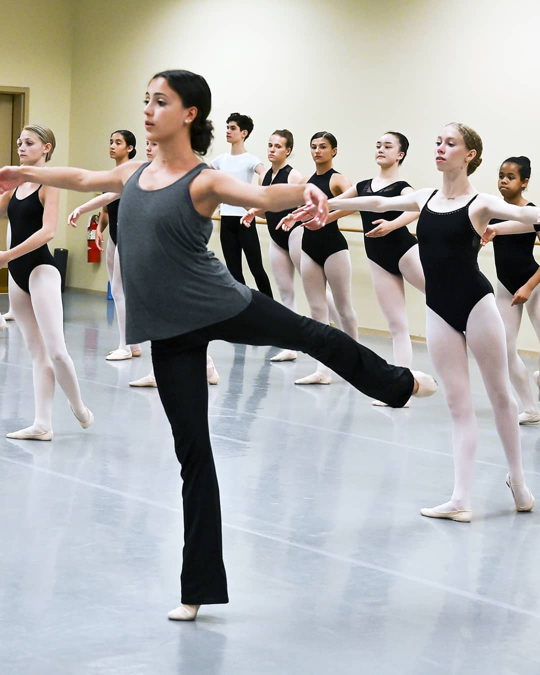 Though nervous at first about teaching, Katherine says it has actually helped her as a dancer because it makes her think differently. Photo from Facebook page of First State Ballet Theatre