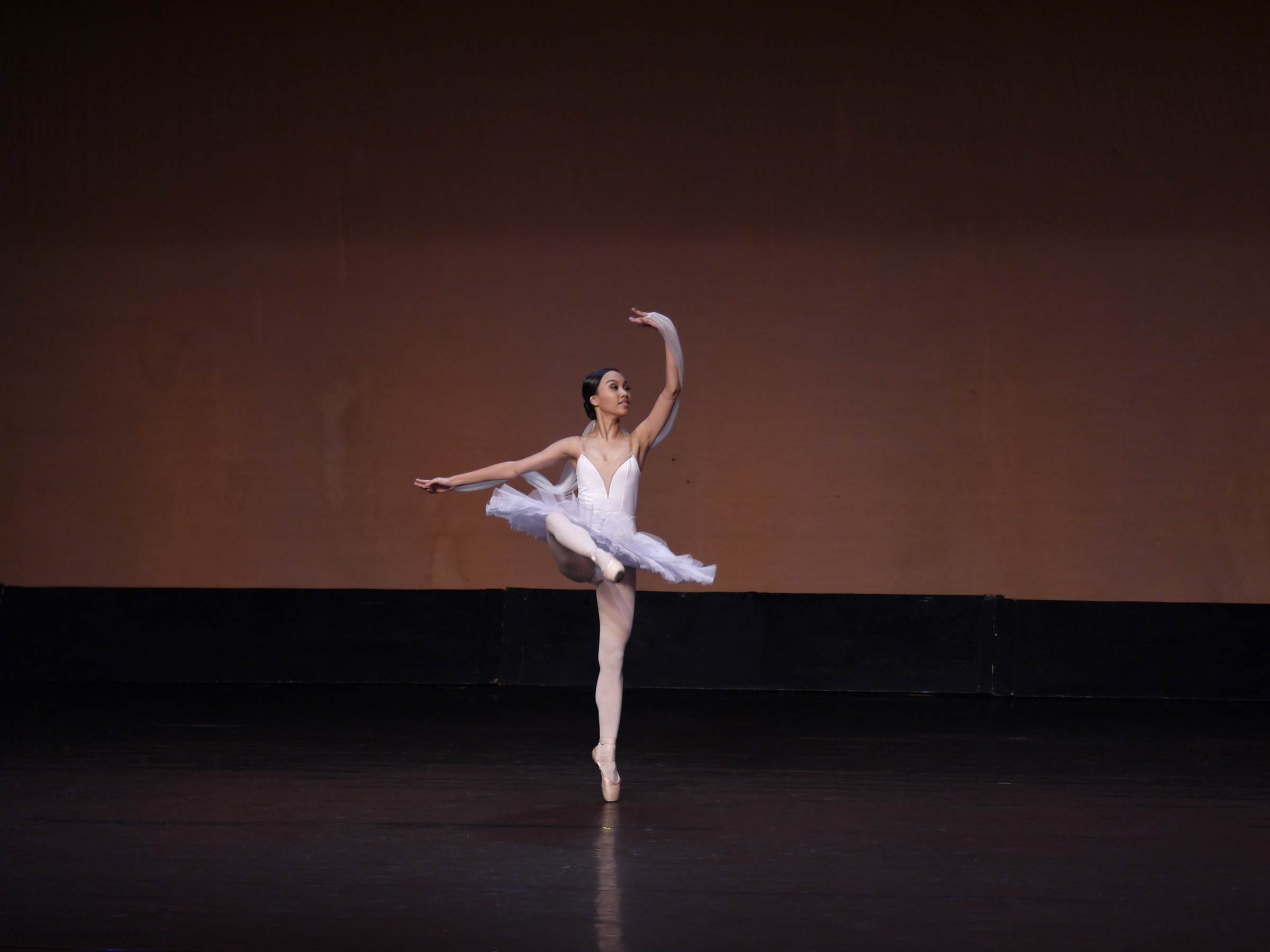 Although she likes performing over competing, Fiona knows the latter brings valuable experiences, such as when she participated in the 2018 CCP Ballet Competition. Photo by Giselle P. Kasilag