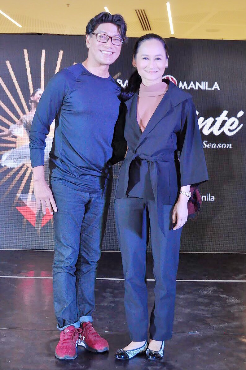 Ballet Manila co-artistic director Osias Barroso and artistic director Lisa Macuja-Elizalde guarantee audiences a diverse fare in the company's 24th season dubbed  On Pointe.
