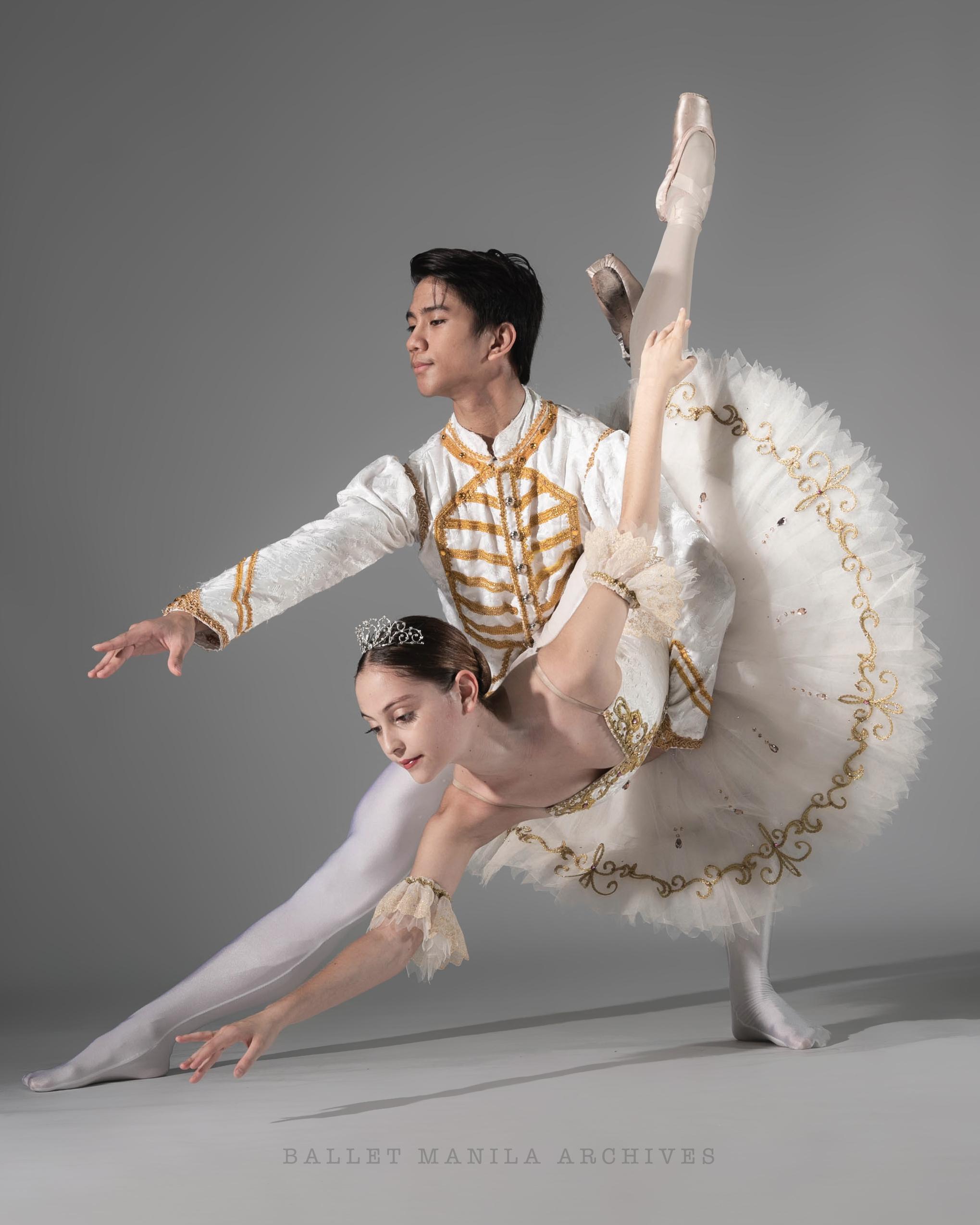 Ballet Dictionary: Fish dive 1 - Ballet Manila Archives