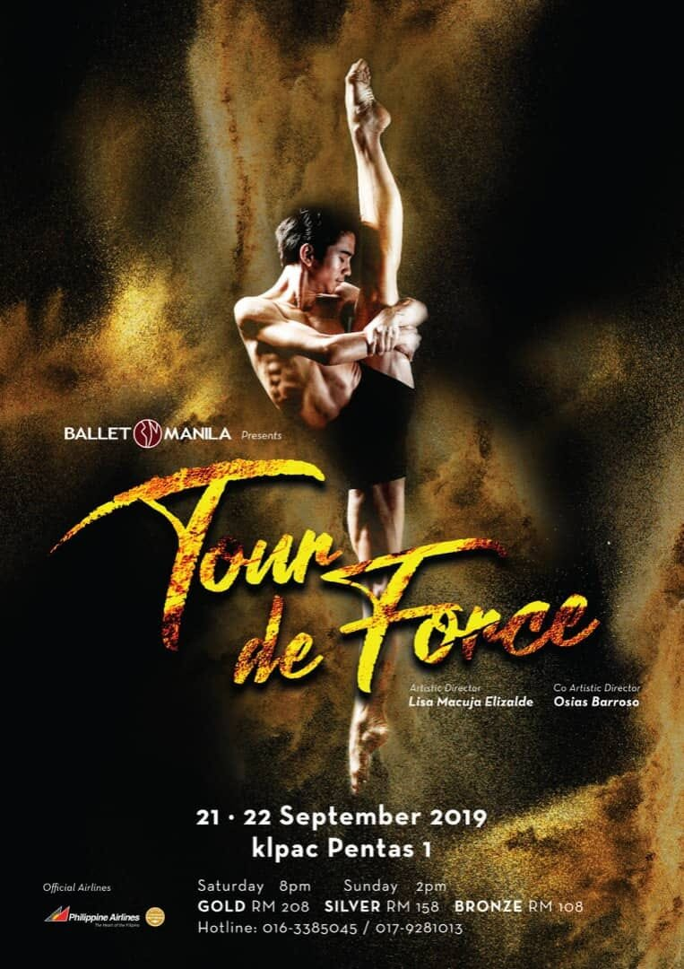 Ballet Manila will perform a mixed program of classics, neo-classics and modern pieces in Kuala Lumpur.