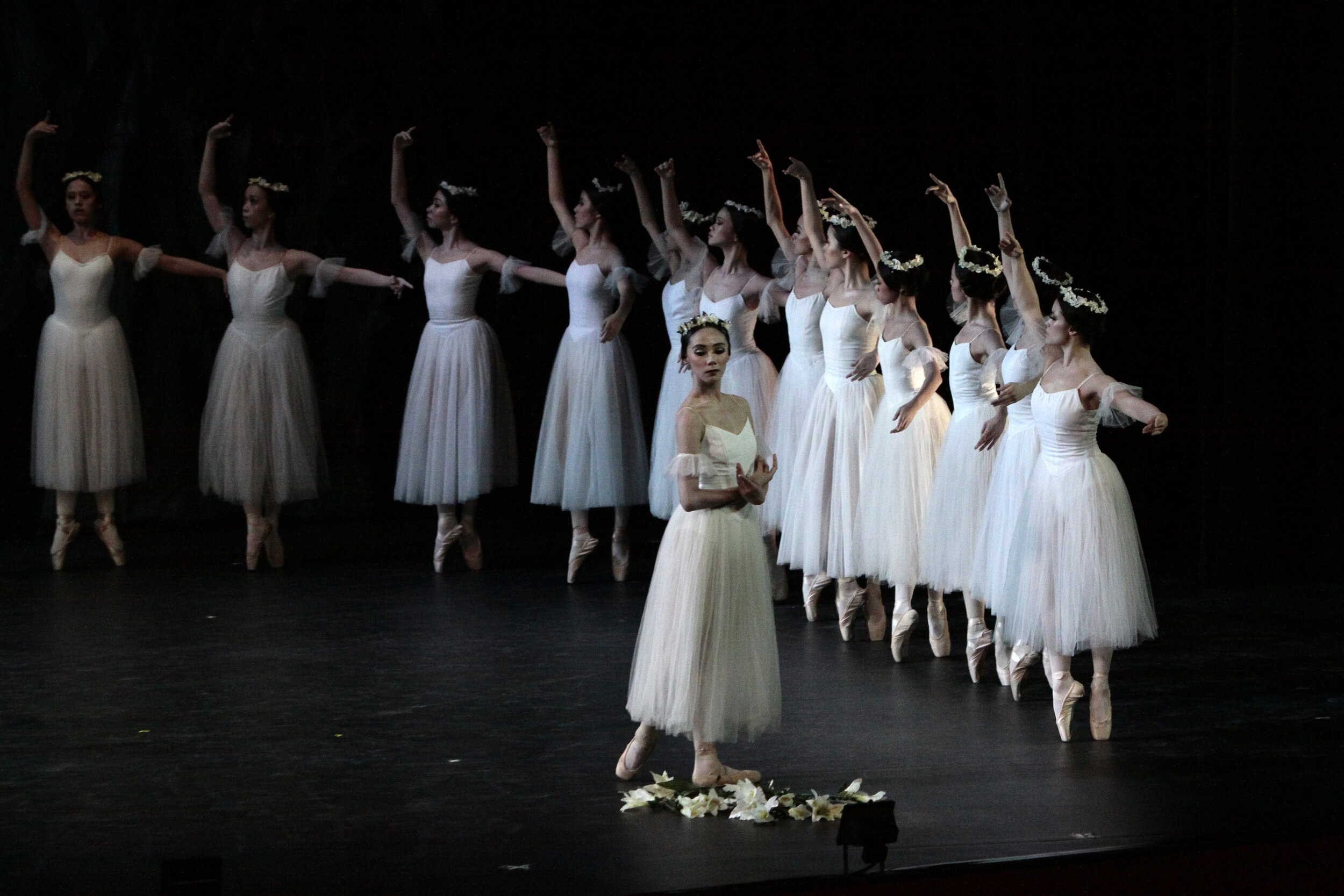 "Zaira Cosico was Myrtha in the 2010 staging of ""Giselle"""