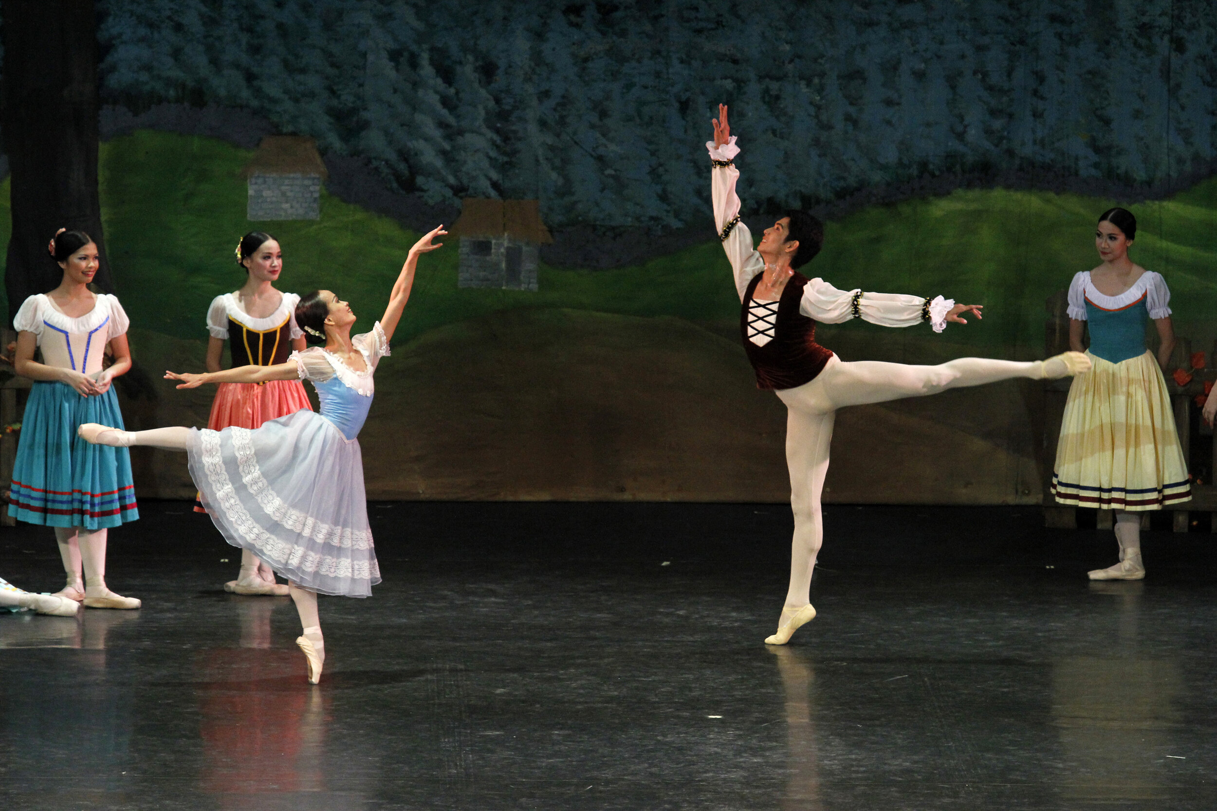 "Yanti Marduli and Nazer Salgado completed the four sets of casts for the 2012 production of ""Giselle"""