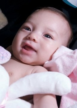 Our fav pic of our baby girl…