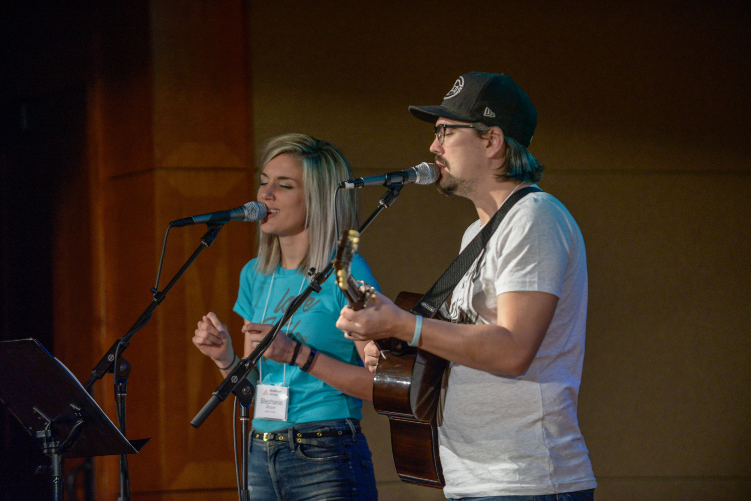 Really, these two have the most beautiful voices I've ever heard...Photo Credit - Allen & Carol Photography