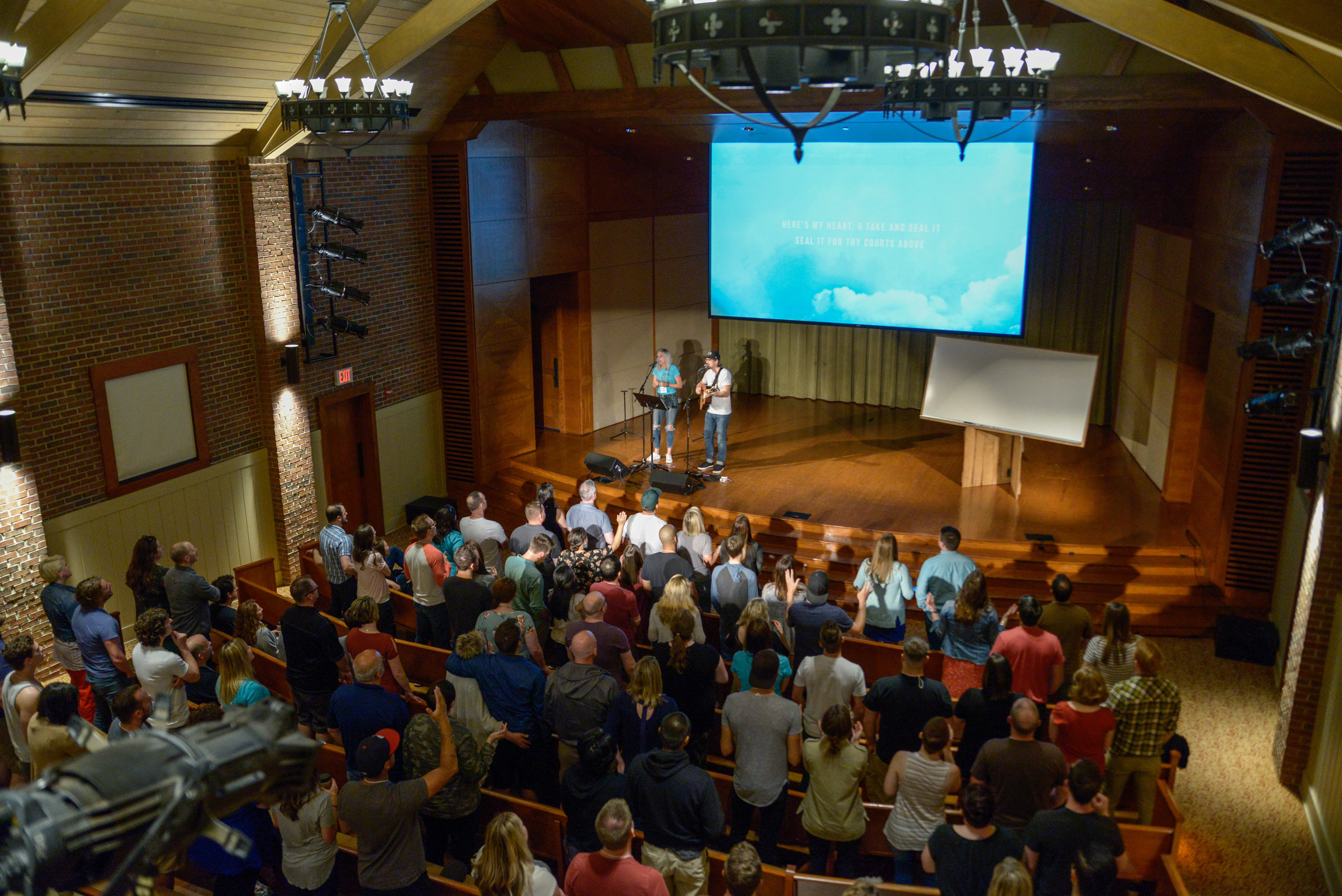 There's nothing better than God's children gathered to worship His name. Photo credit - Allen and Carol Photography