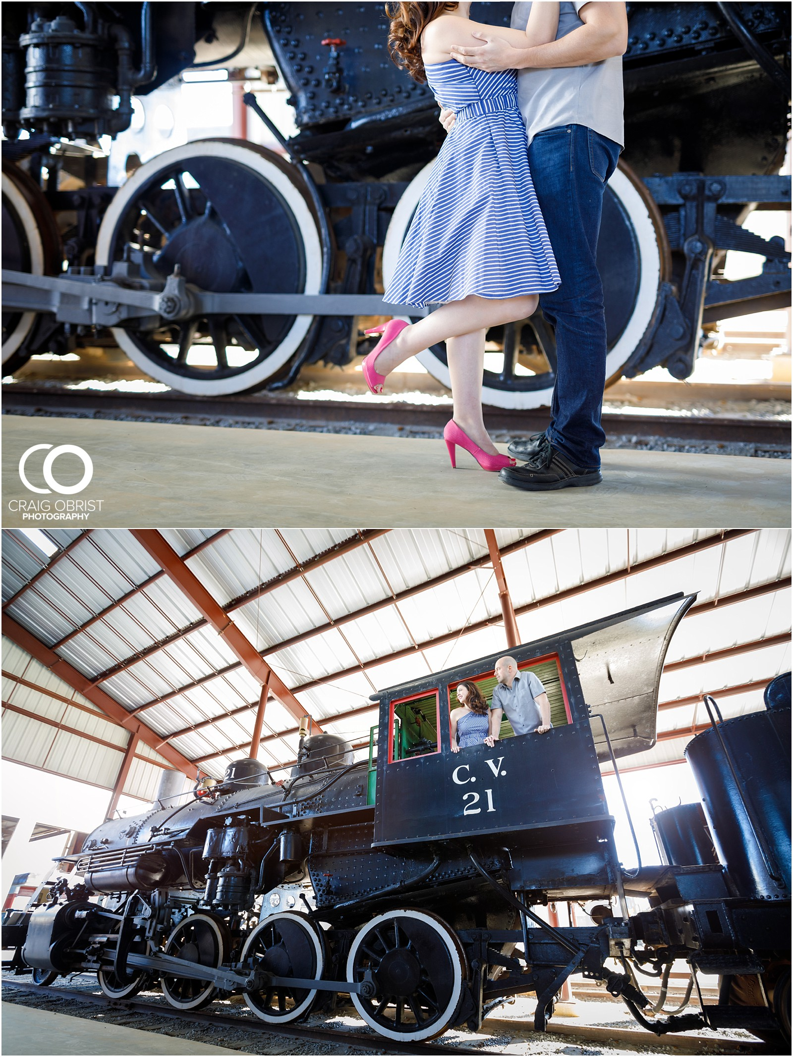 Southeastern Railway Museum Engagement Portraits Atlanta_0019.jpg