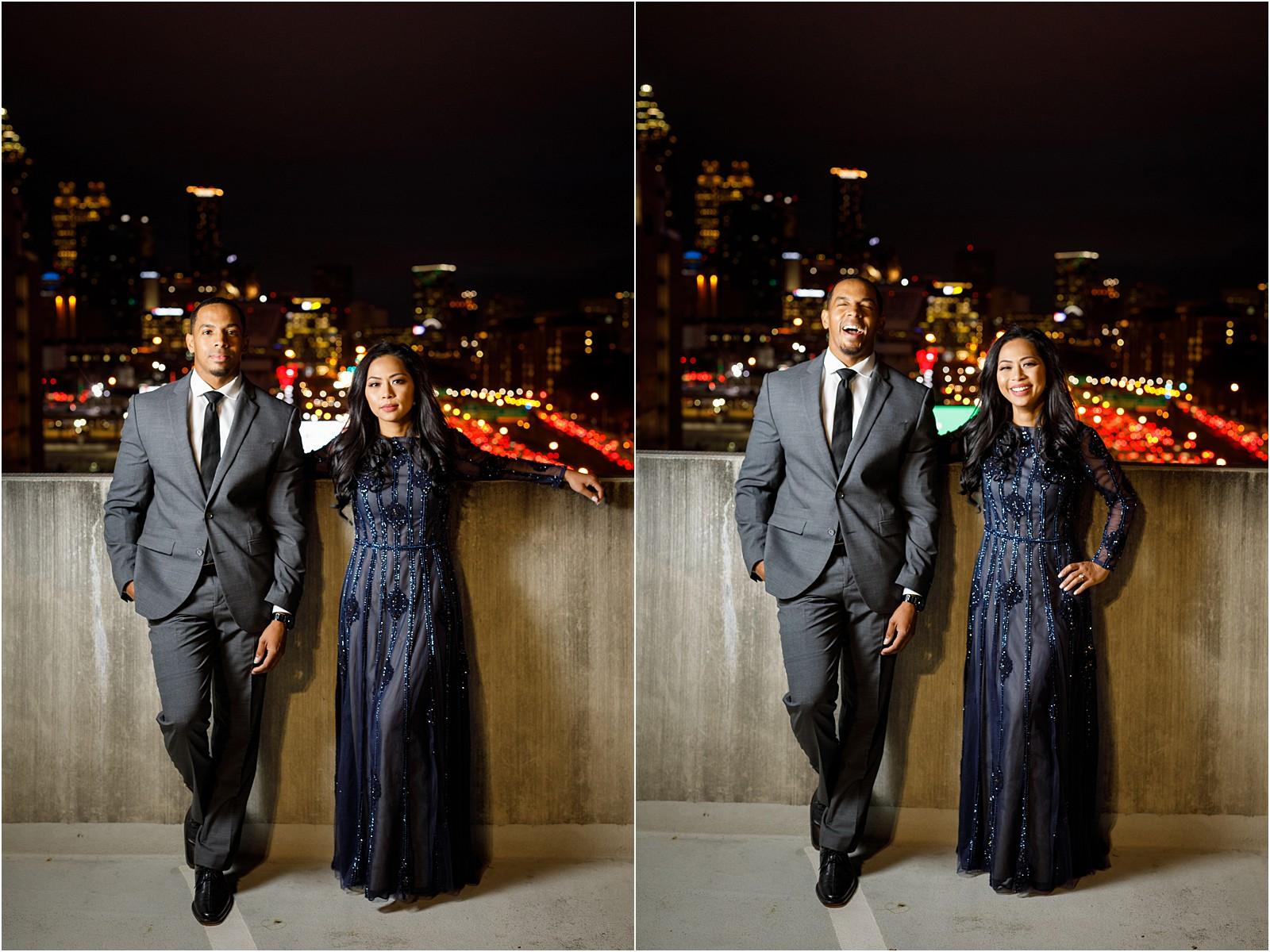 Downtown Duluth Atlanta Skyline Engagement Portraits_0021.jpg