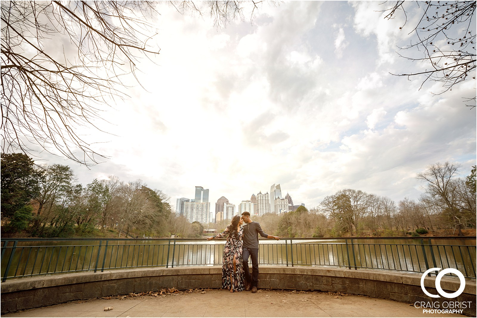 Piedmont Park Atlanta Skyline Engagement Portraits_0023-1.jpg
