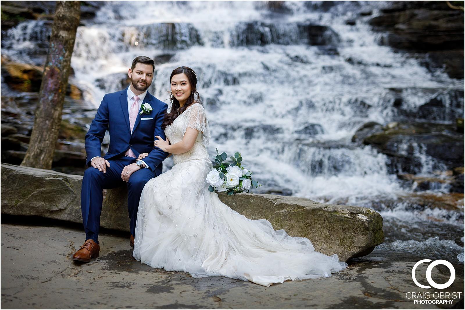 Waterfall Wedding Portraits Elopement Georgia_0002.jpg