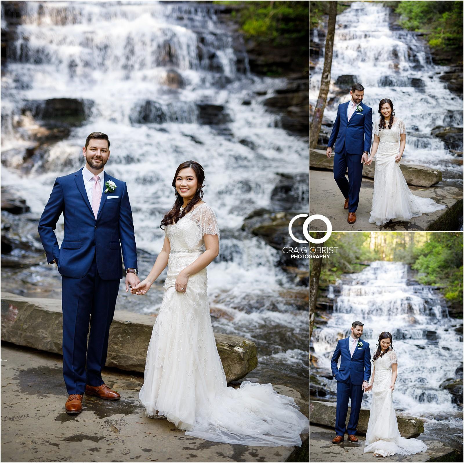 Waterfall Wedding Portraits Elopement Georgia_0001.jpg