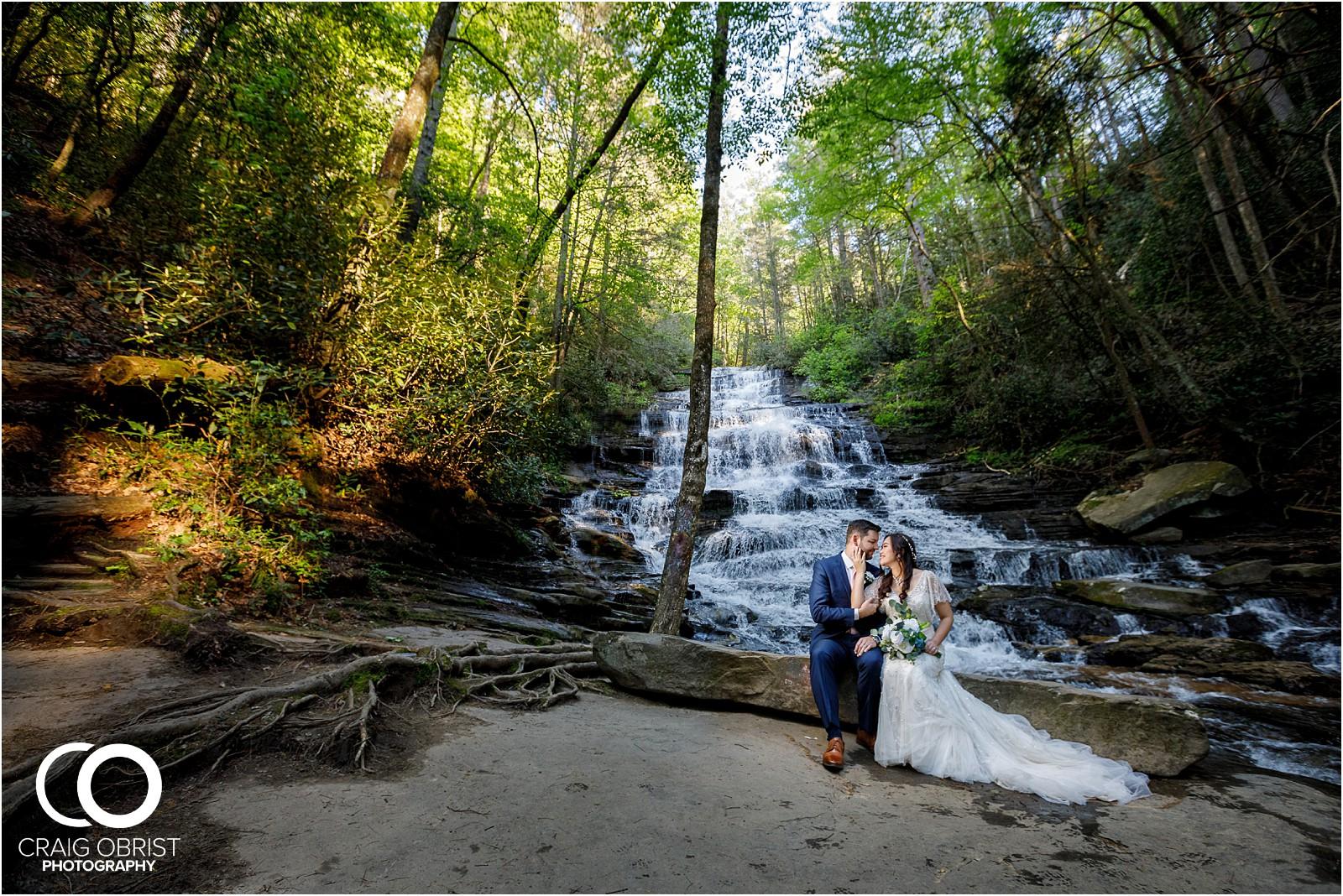 Waterfall Wedding Portraits Elopement Georgia_0004.jpg