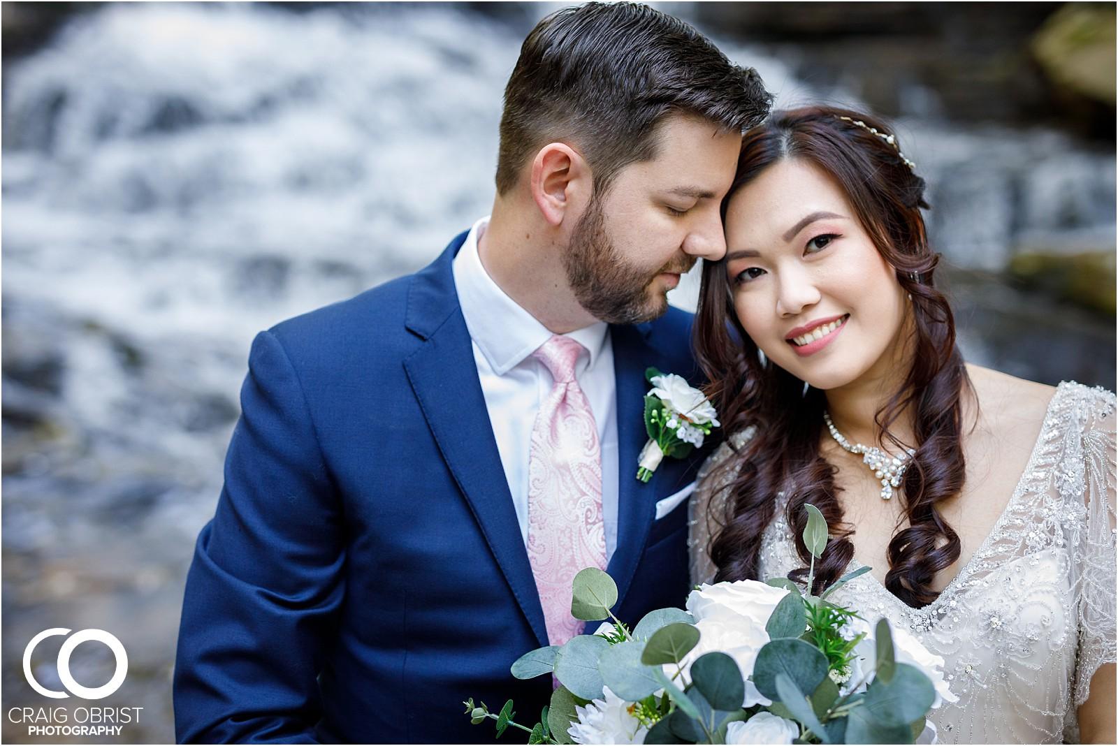 Waterfall Wedding Portraits Elopement Georgia_0005.jpg