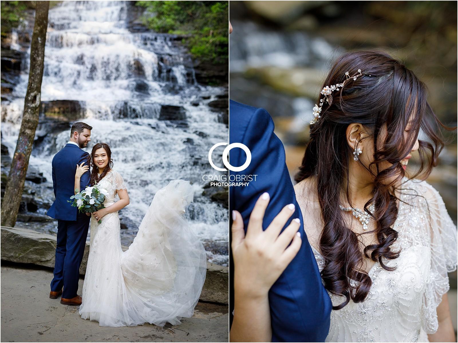 Waterfall Wedding Portraits Elopement Georgia_0007.jpg