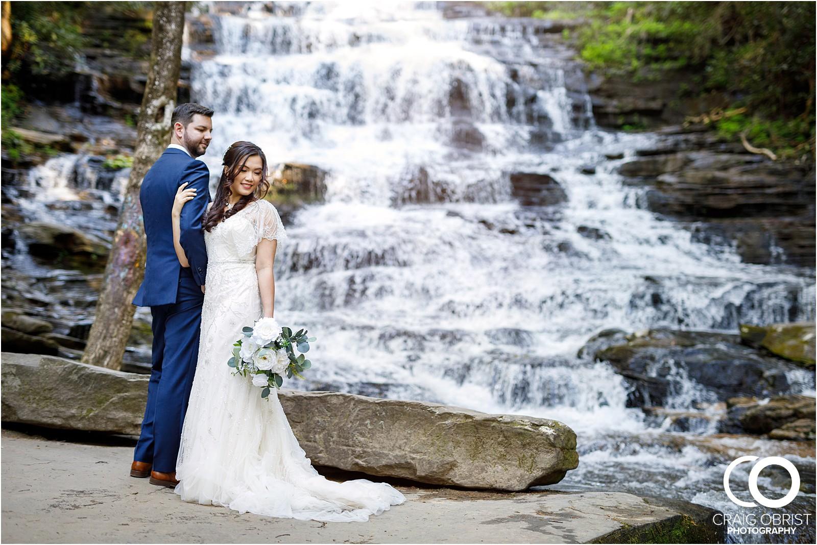 Waterfall Wedding Portraits Elopement Georgia_0008.jpg