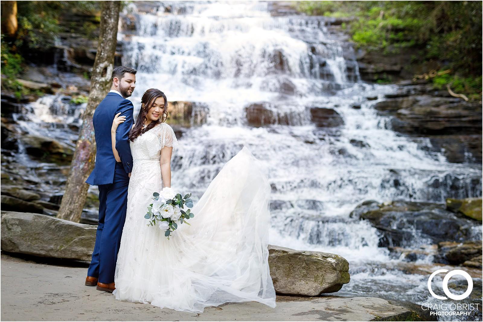 Waterfall Wedding Portraits Elopement Georgia_0009.jpg