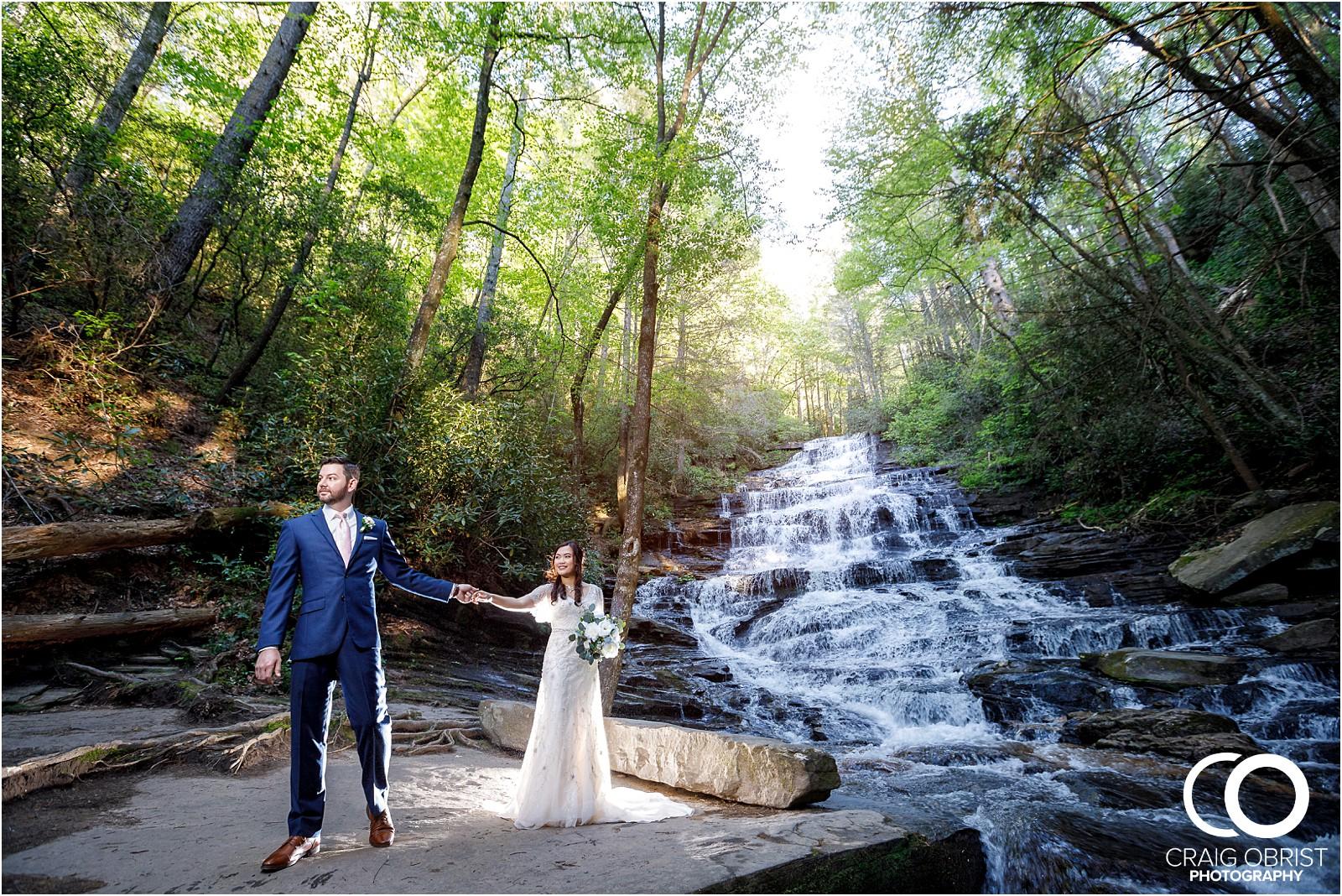 Waterfall Wedding Portraits Elopement Georgia_0011.jpg