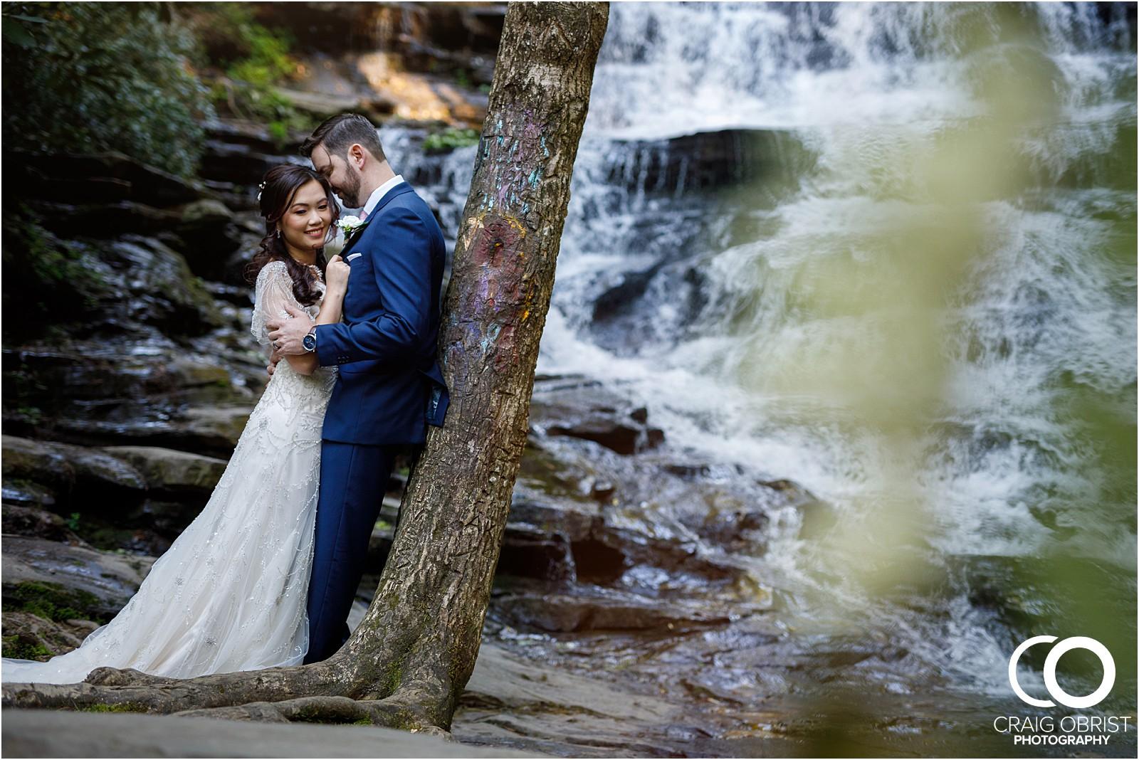 Waterfall Wedding Portraits Elopement Georgia_0013.jpg
