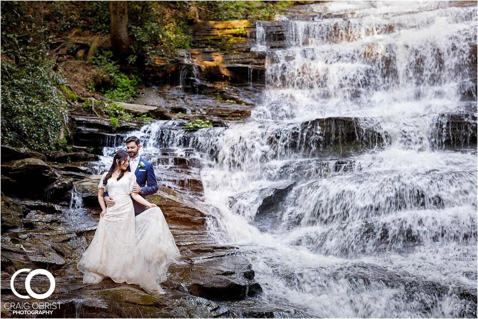 Waterfall Wedding Portraits Elopement Georgia_0014.jpg