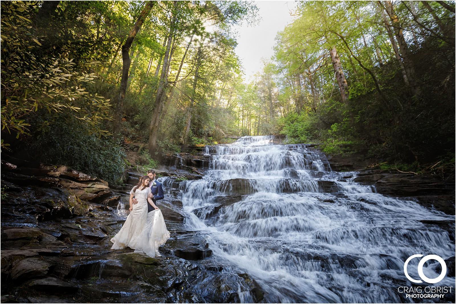 Waterfall Wedding Portraits Elopement Georgia_0016.jpg