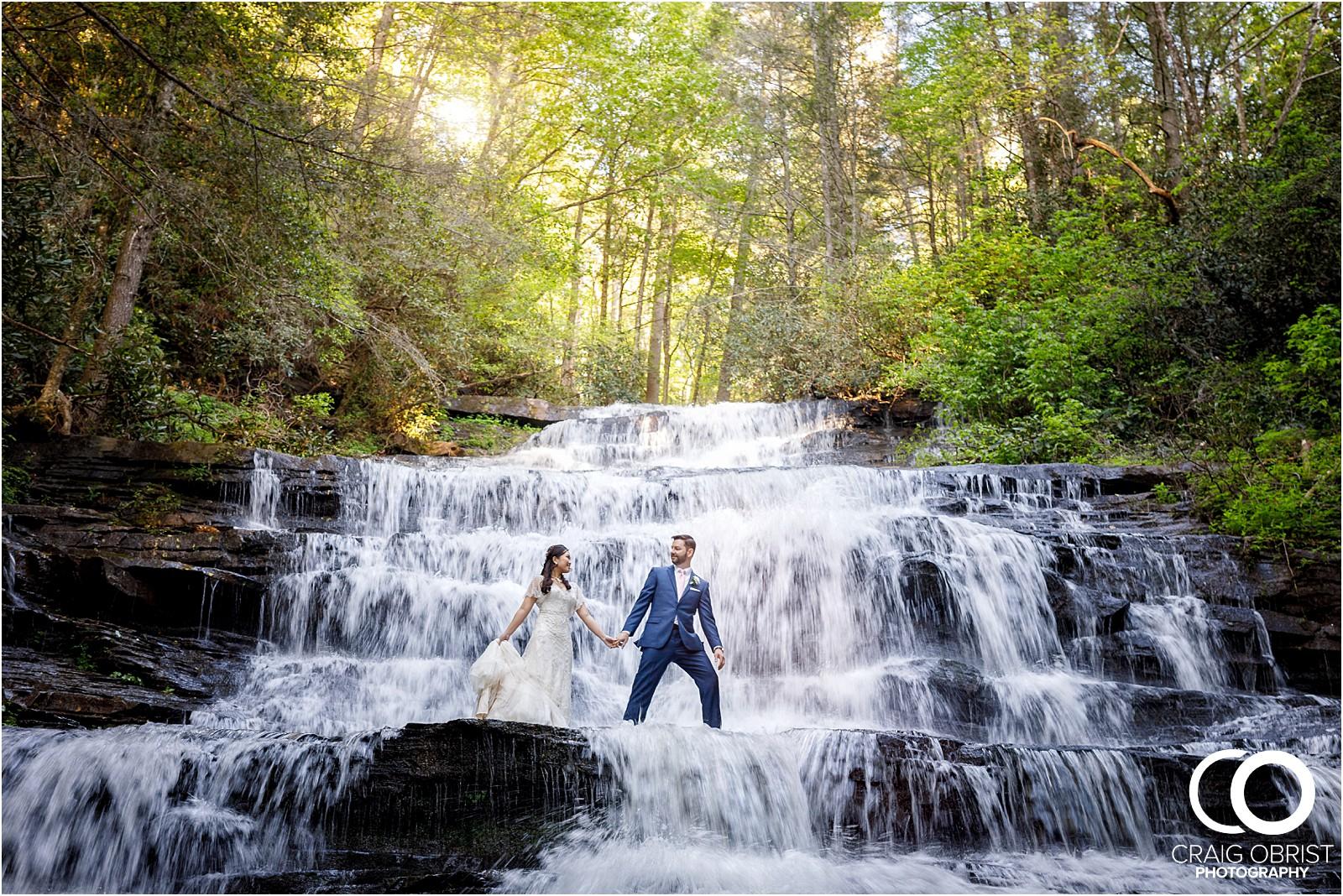 Waterfall Wedding Portraits Elopement Georgia_0017.jpg