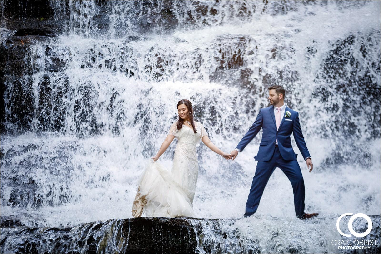 Waterfall Wedding Portraits Elopement Georgia_0019.jpg