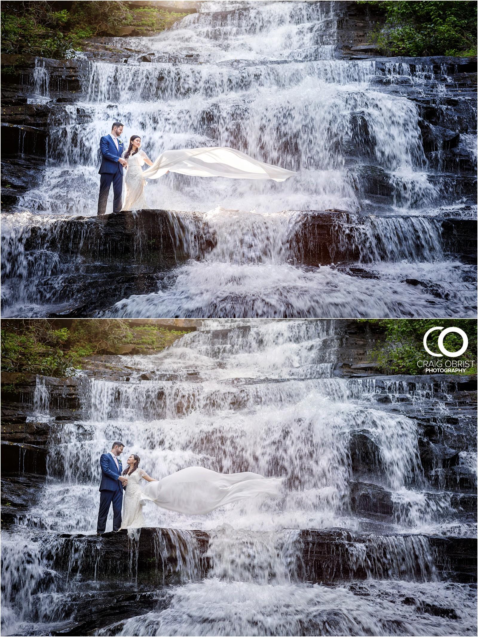 Waterfall Wedding Portraits Elopement Georgia_0023.jpg