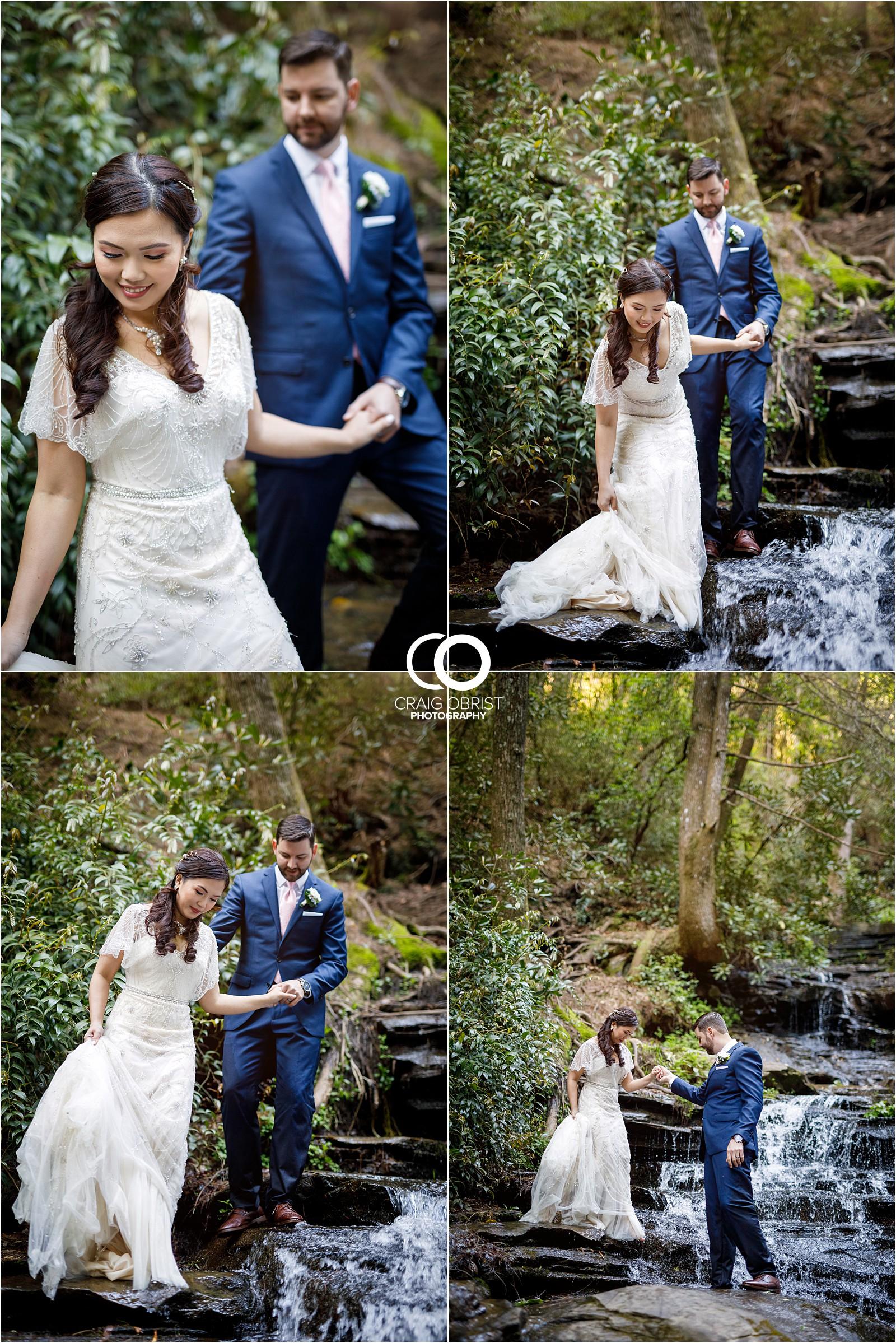 Waterfall Wedding Portraits Elopement Georgia_0024.jpg