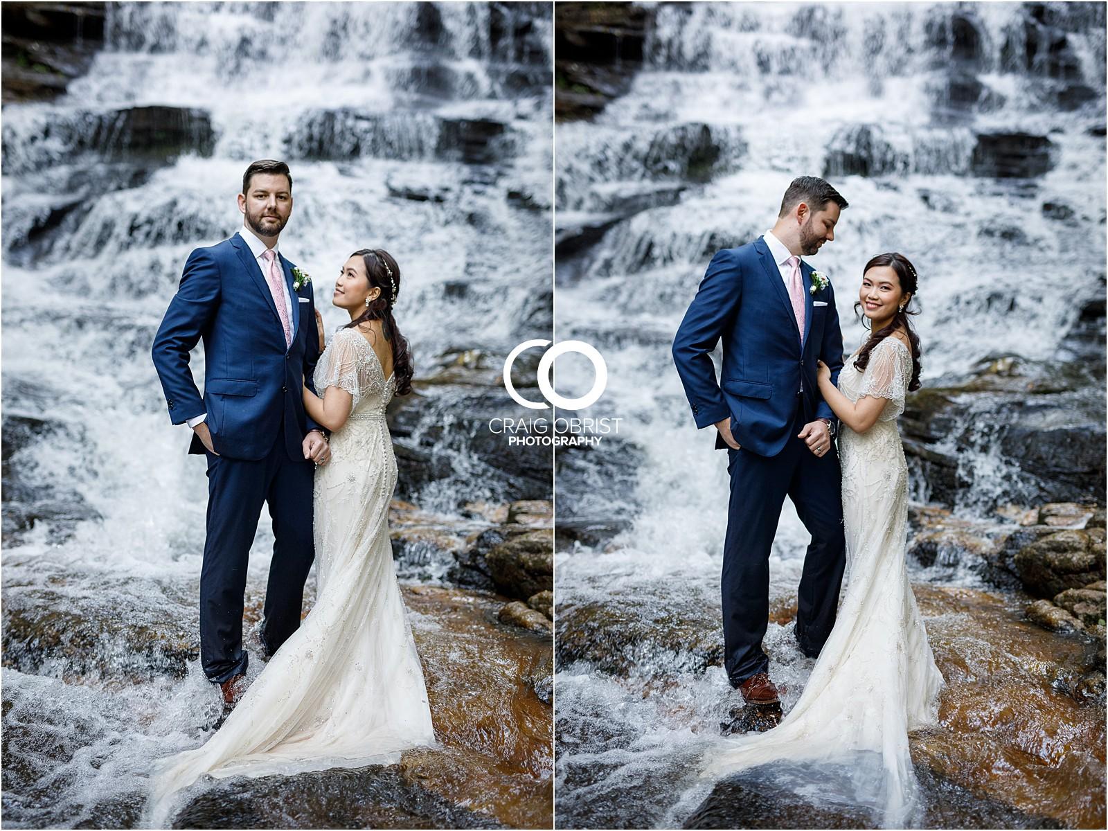 Waterfall Wedding Portraits Elopement Georgia_0025.jpg
