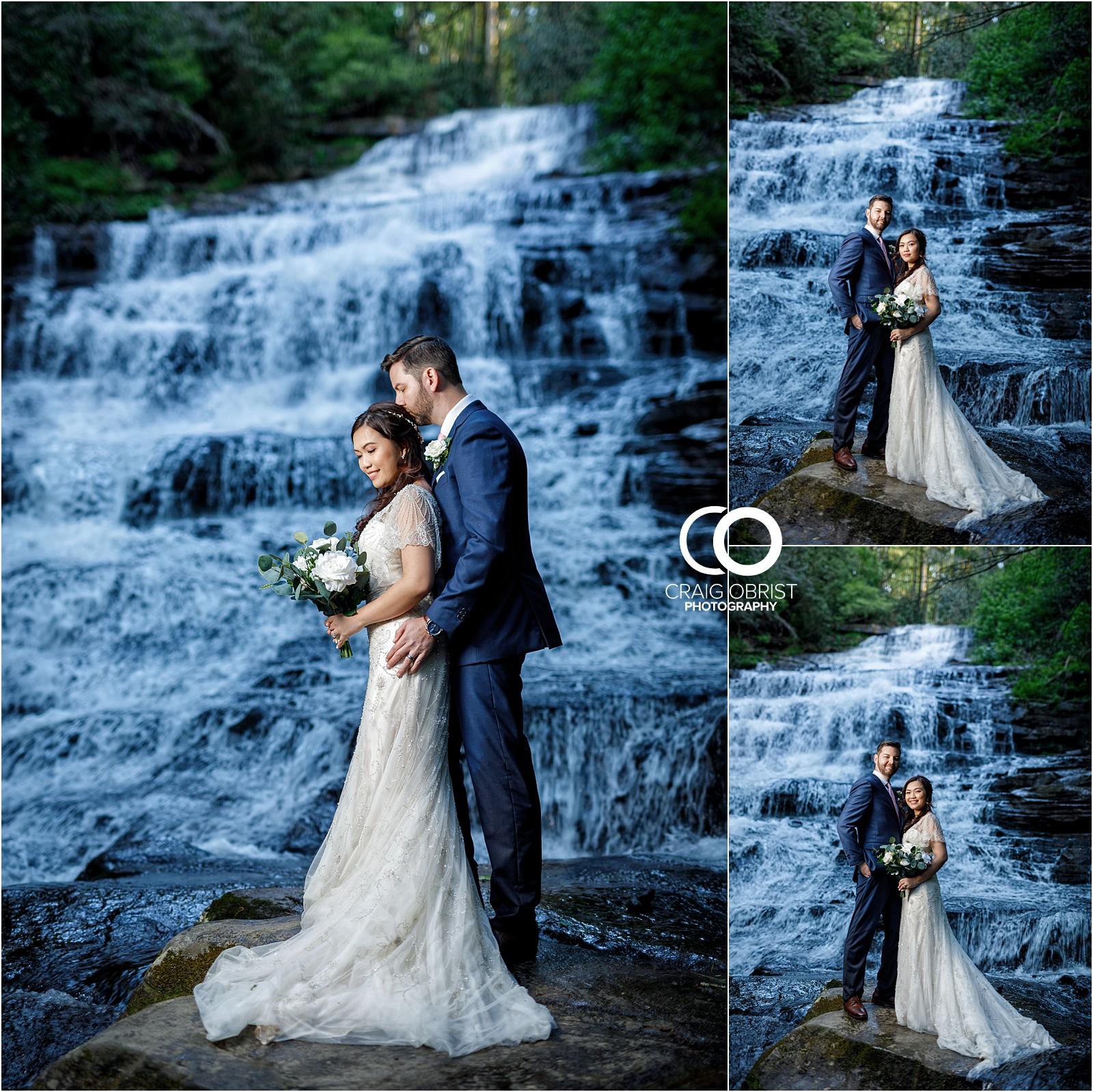 Waterfall Wedding Portraits Elopement Georgia_0027.jpg