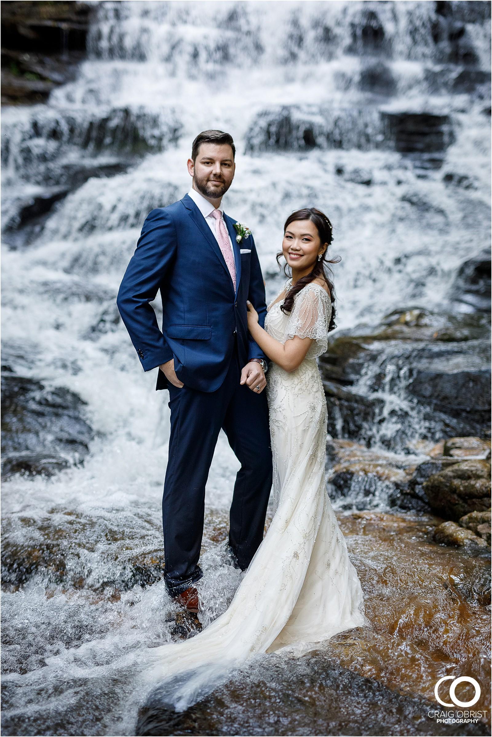 Waterfall Wedding Portraits Elopement Georgia_0026.jpg