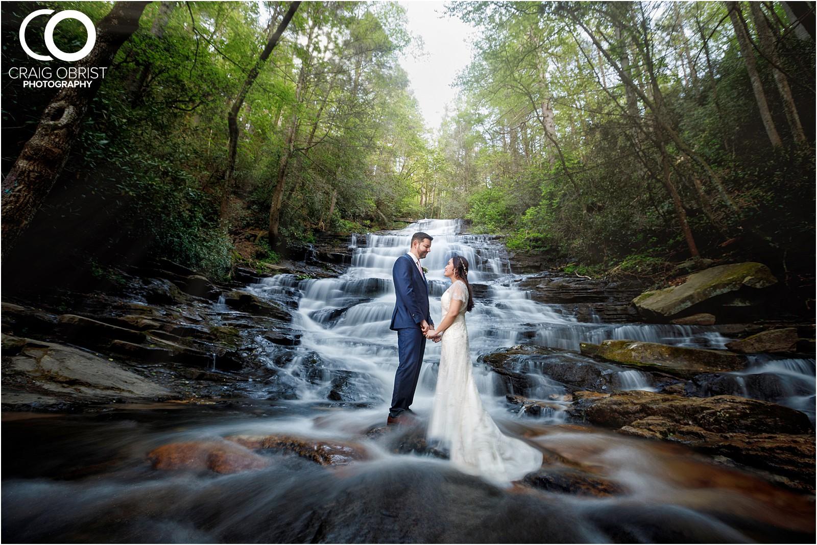 Waterfall Wedding Portraits Elopement Georgia_0029.jpg