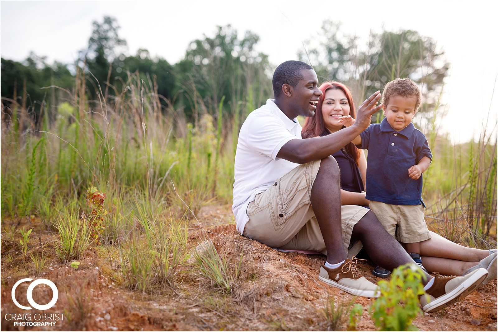 Grass Field Family Portratis Sunset Atlanta_0023.jpg