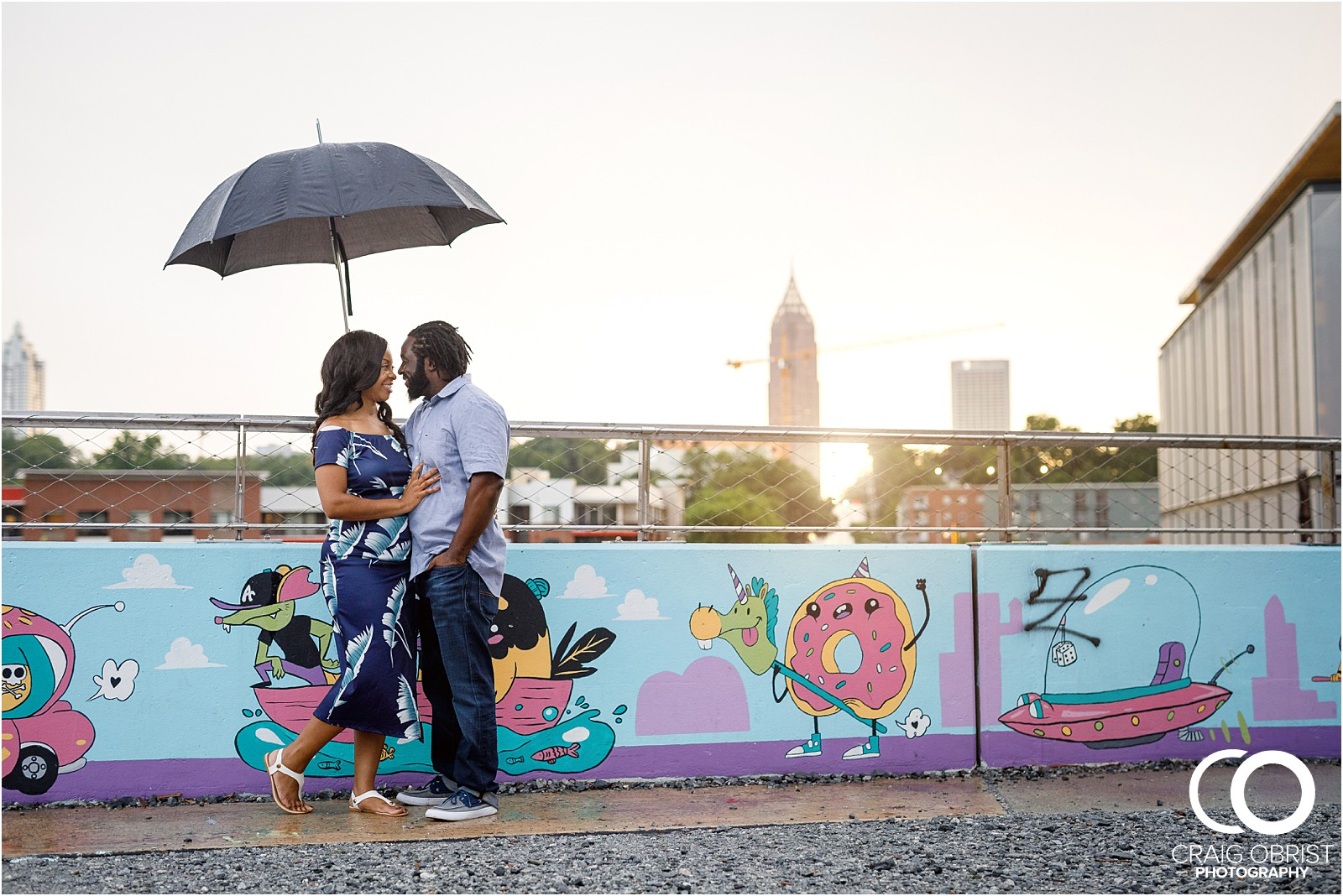 Ponce City Market Atlanta Skyline Sunset Portraits Wedding_0017.jpg