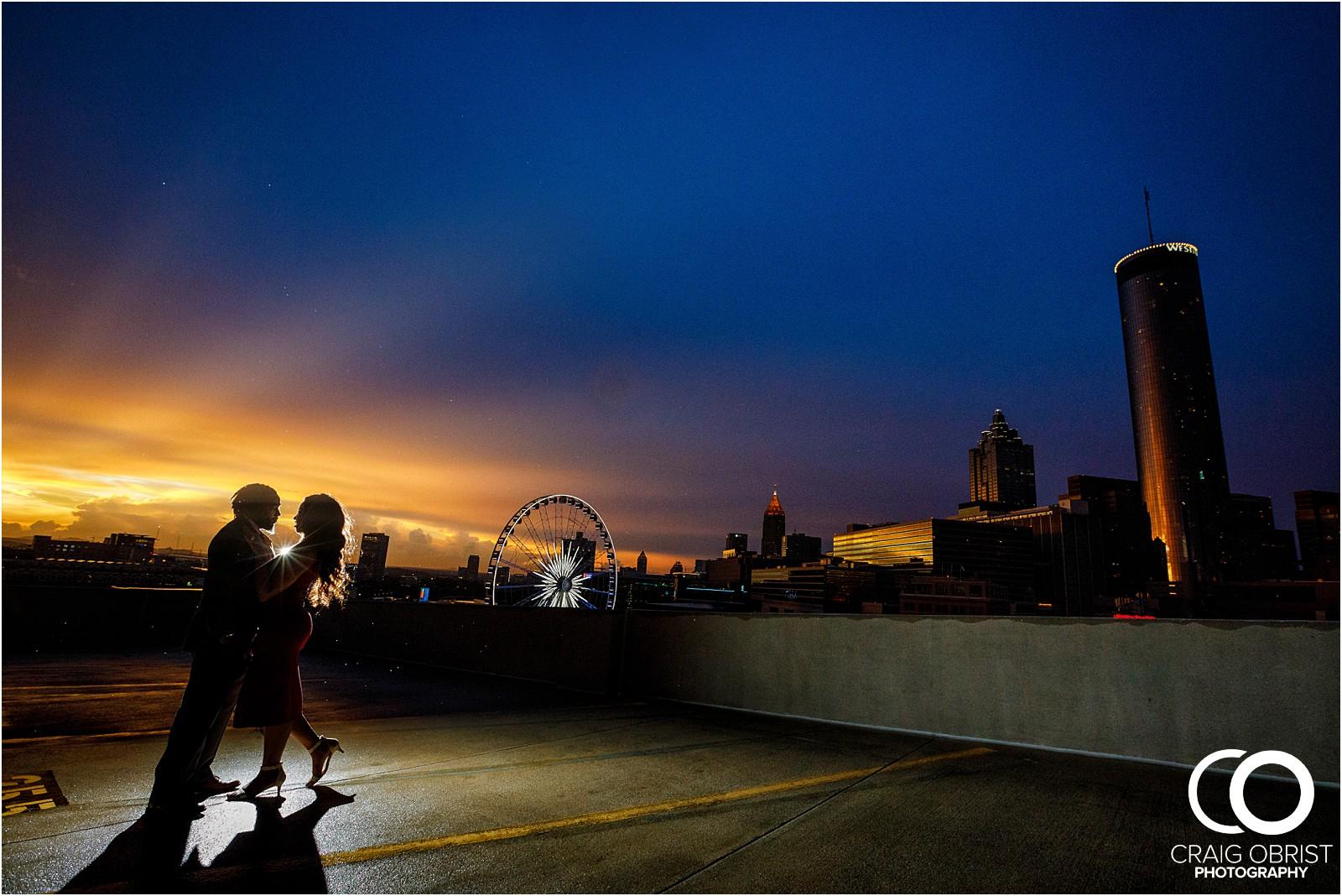 Ponce City Market Atlanta Skyline Sunset Portraits Wedding_0025.jpg