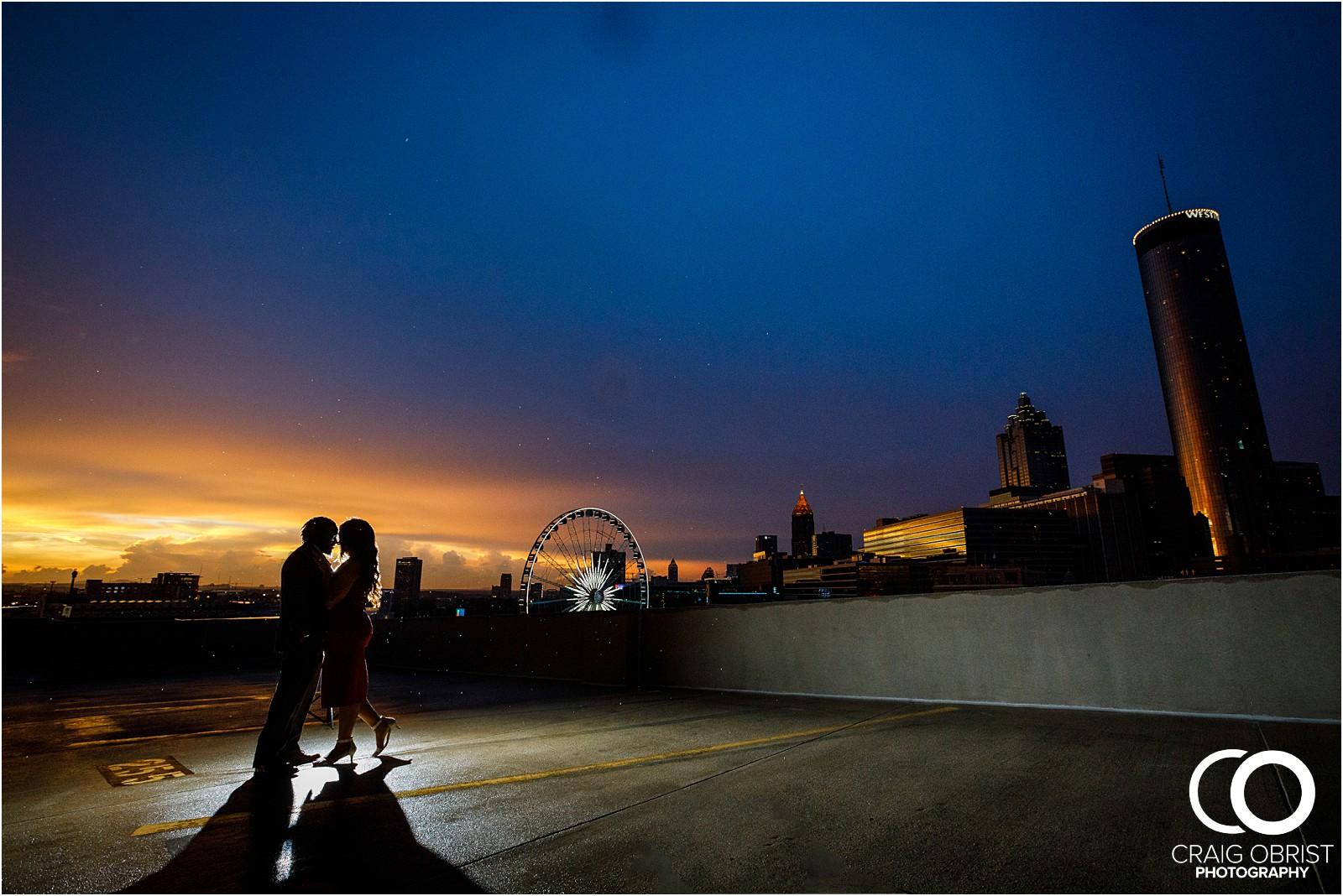 Ponce City Market Atlanta Skyline Sunset Portraits Wedding_0026.jpg