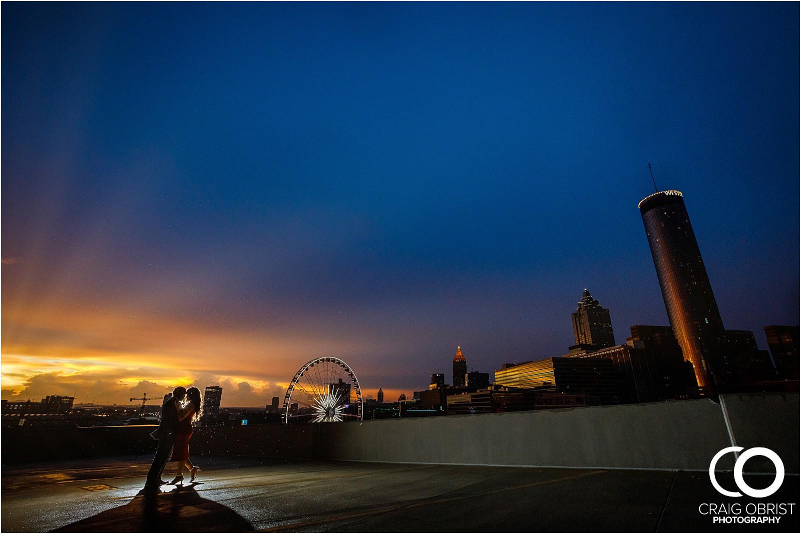 Ponce City Market Atlanta Skyline Sunset Portraits Wedding_0028.jpg
