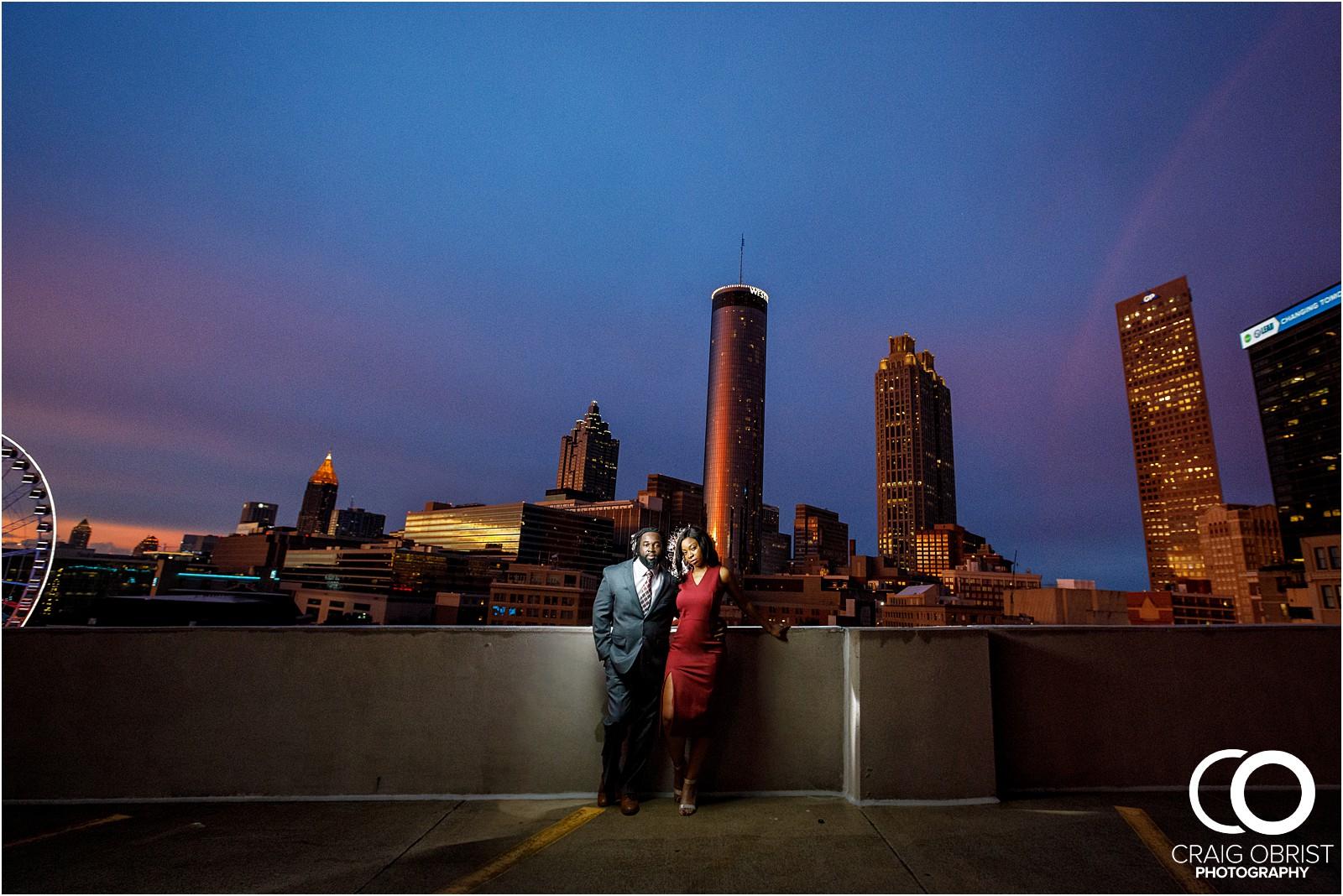 Ponce City Market Atlanta Skyline Sunset Portraits Wedding_0029.jpg