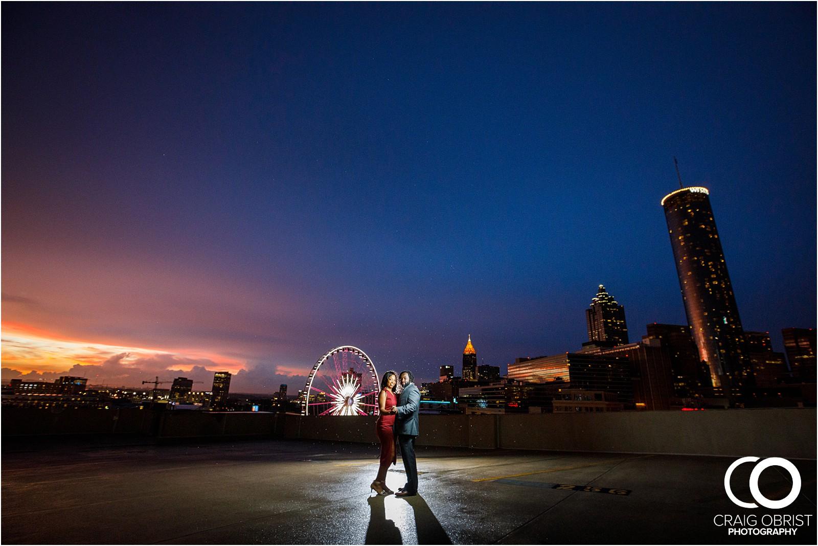 Ponce City Market Atlanta Skyline Sunset Portraits Wedding_0036.jpg