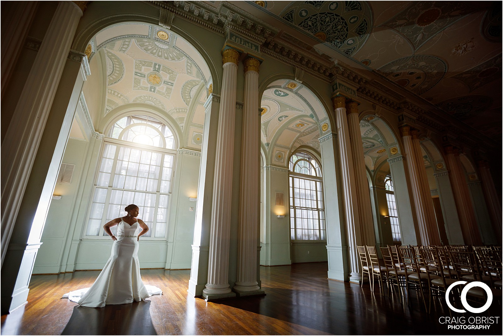 The Biltmore Ballroom Wedding Portraits Atlanta Skyline_0020.jpg