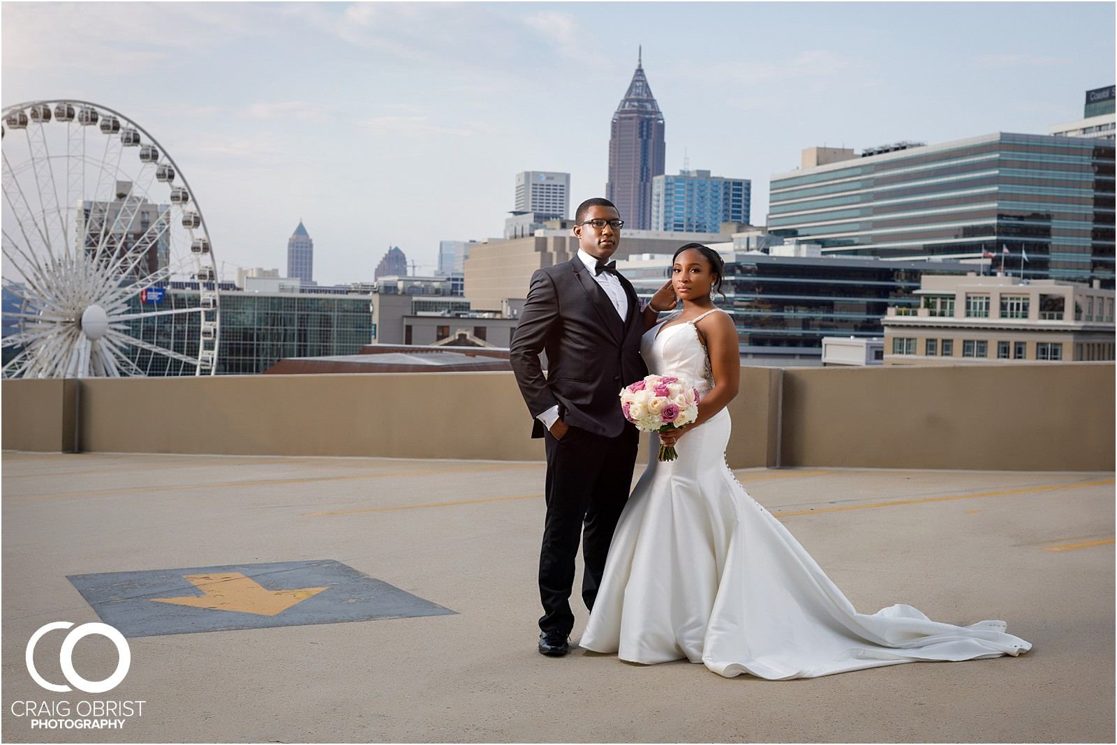 The Biltmore Ballroom Wedding Portraits Atlanta Skyline_0077.jpg