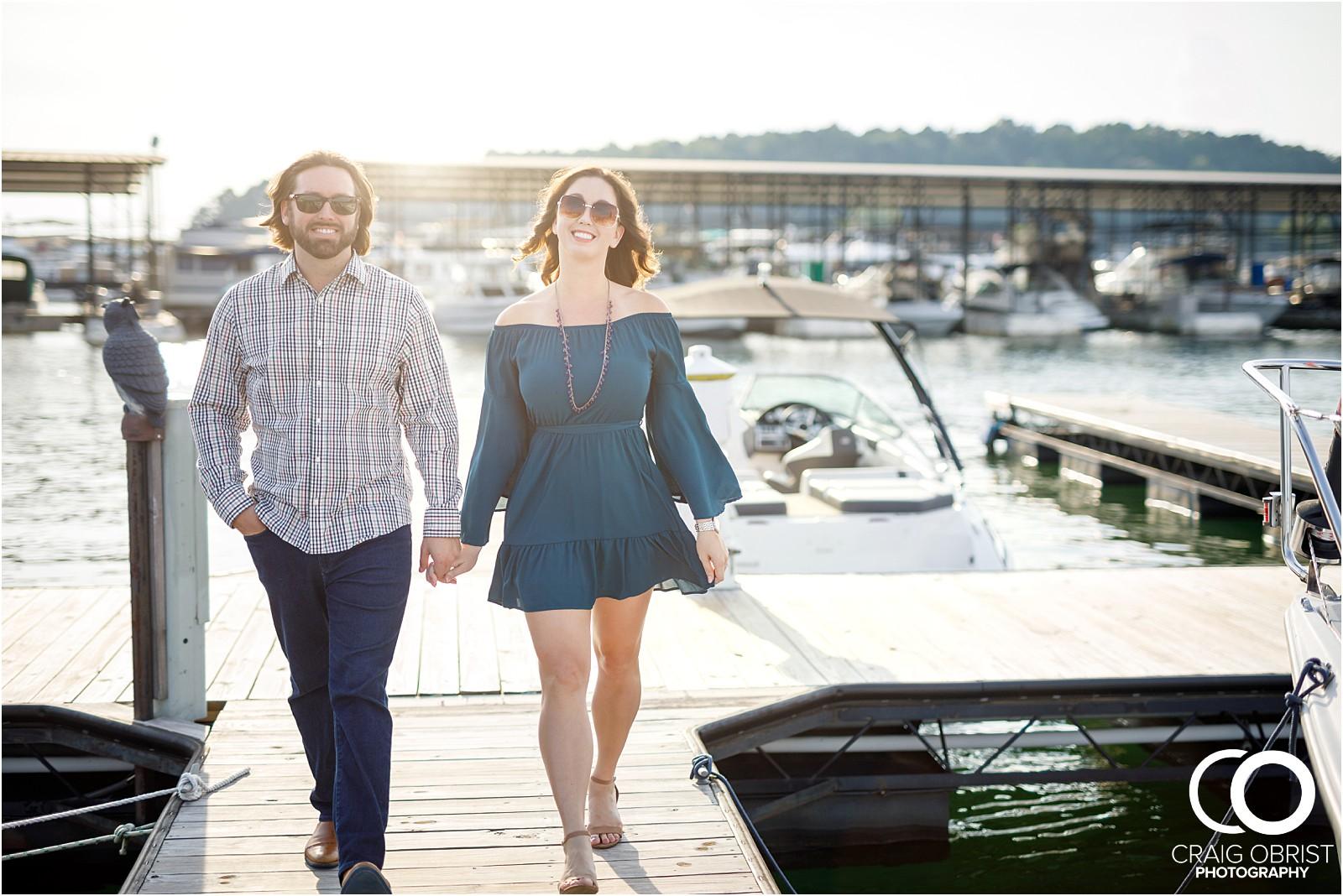 Lake Lanier Islands Engagement Wedding Portraits Dock_0002.jpg