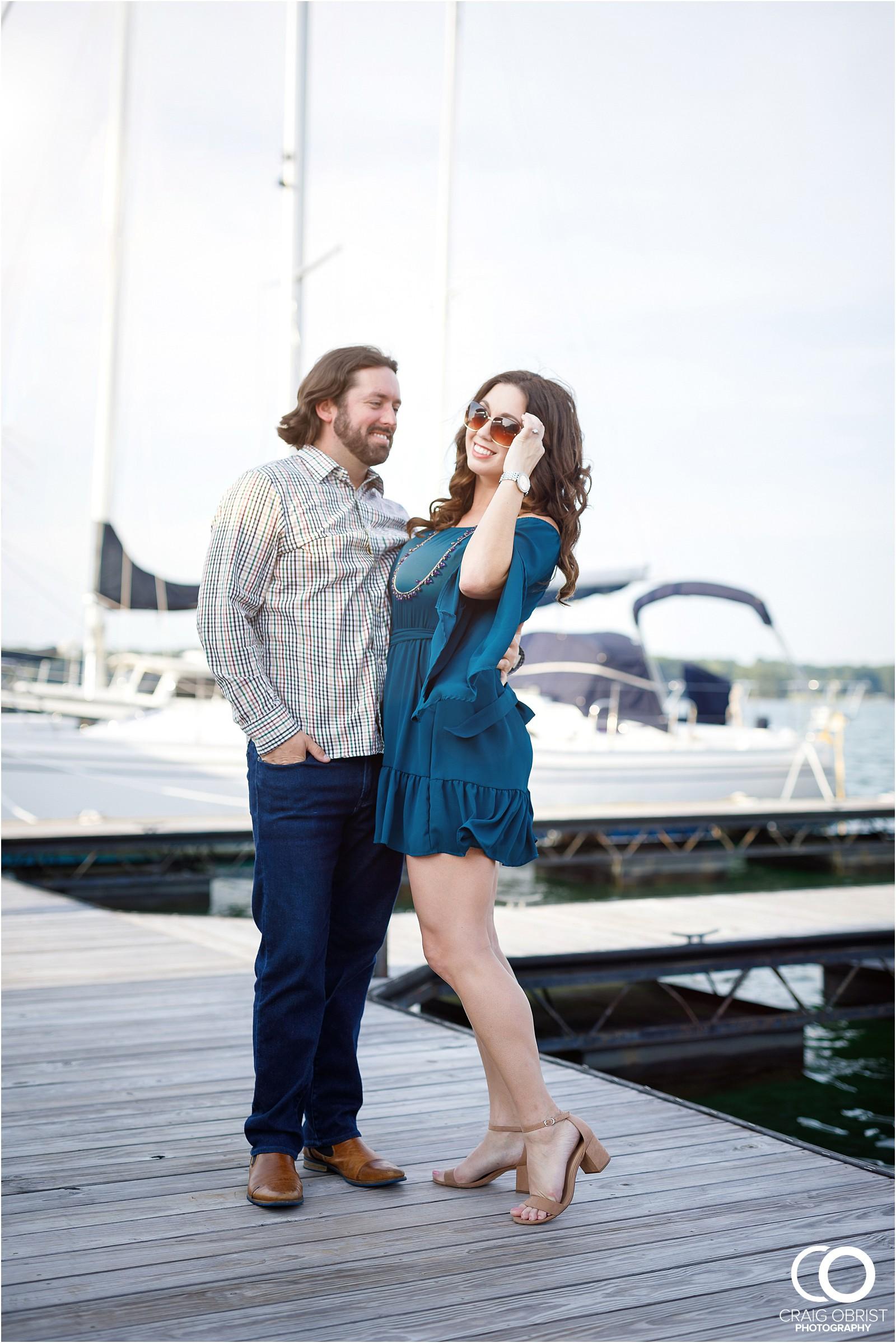 Lake Lanier Islands Engagement Wedding Portraits Dock_0004.jpg
