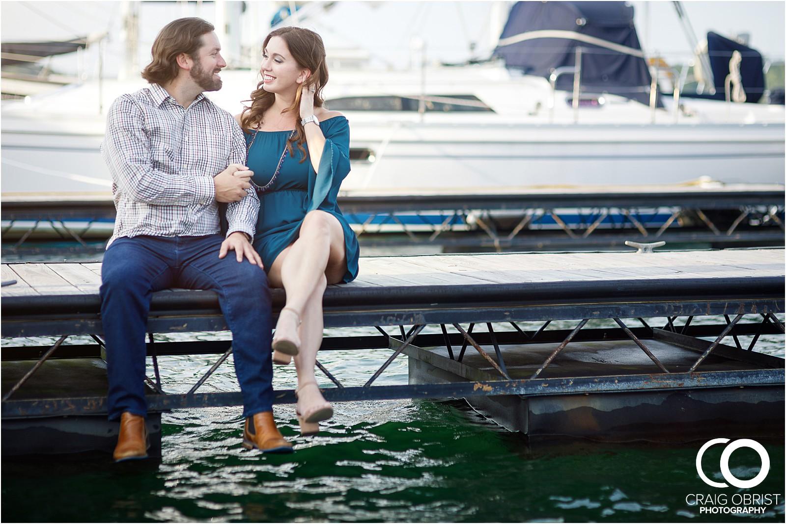 Lake Lanier Islands Engagement Wedding Portraits Dock_0006.jpg