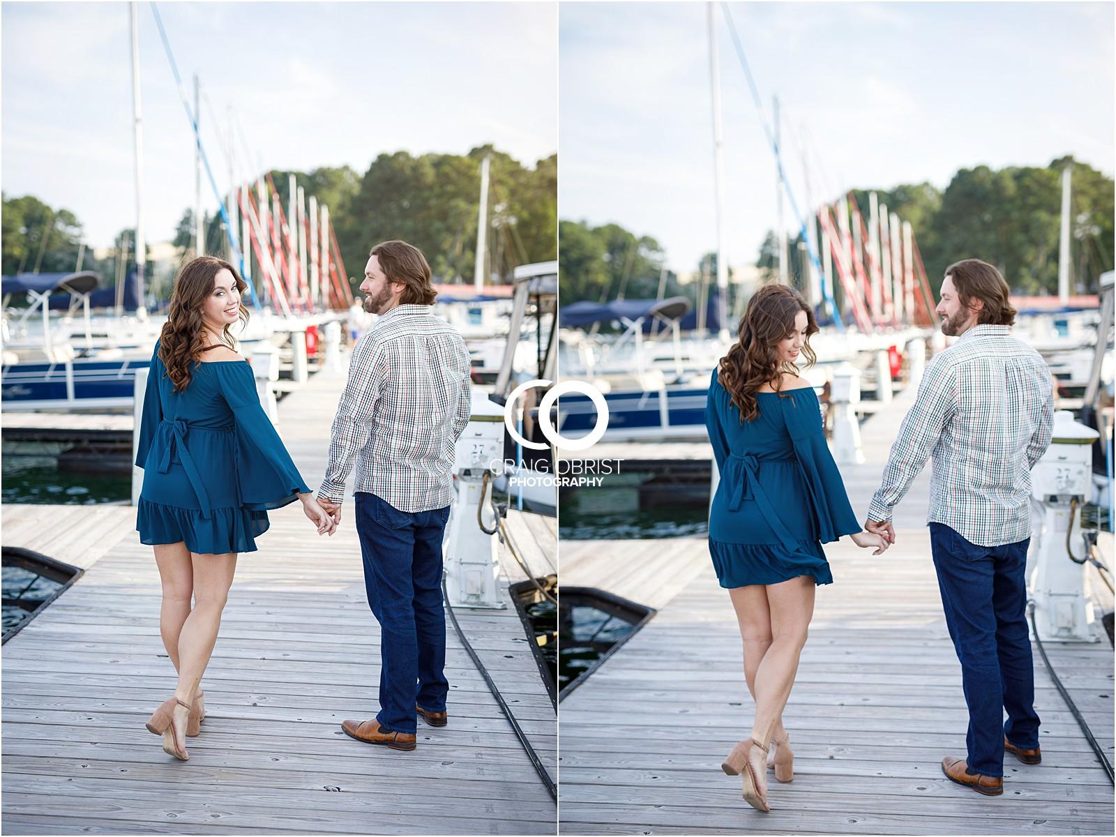 Lake Lanier Islands Engagement Wedding Portraits Dock_0007.jpg
