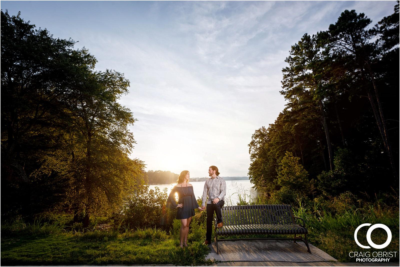 Lake Lanier Islands Engagement Wedding Portraits Dock_0015.jpg