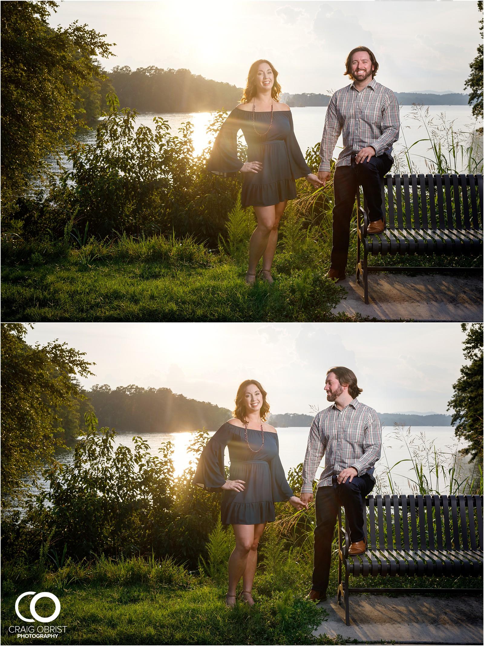 Lake Lanier Islands Engagement Wedding Portraits Dock_0014.jpg