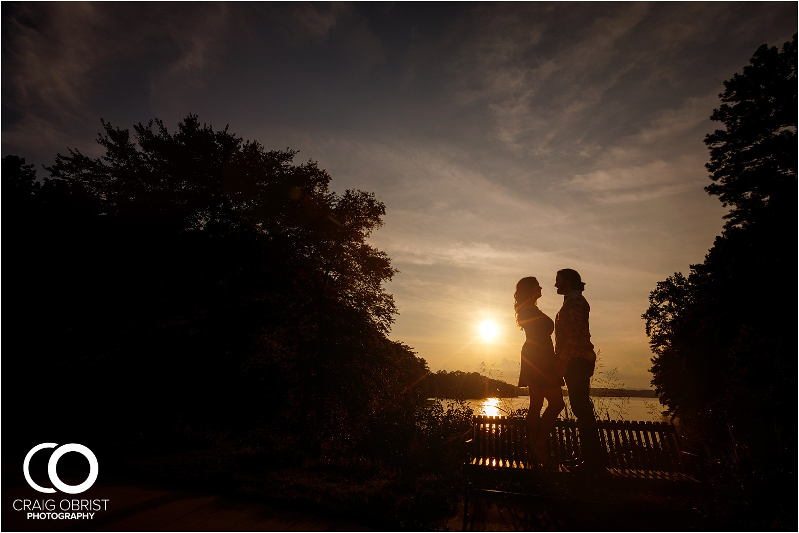 Lake Lanier Islands Engagement Wedding Portraits Dock_0016.jpg
