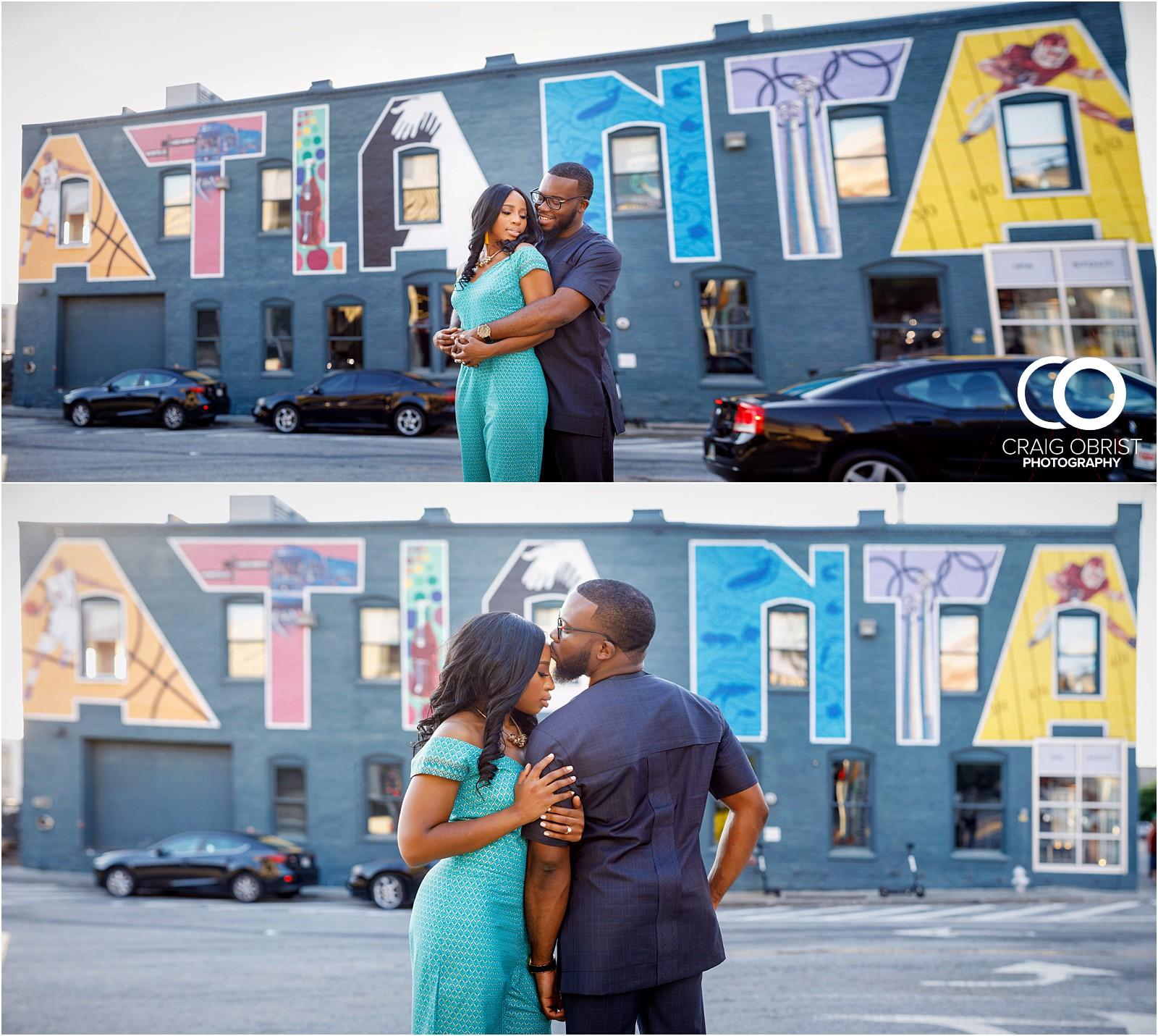 Atlanta Instagram Engagement Portraits Mural Skyline Sunset_0026.jpg