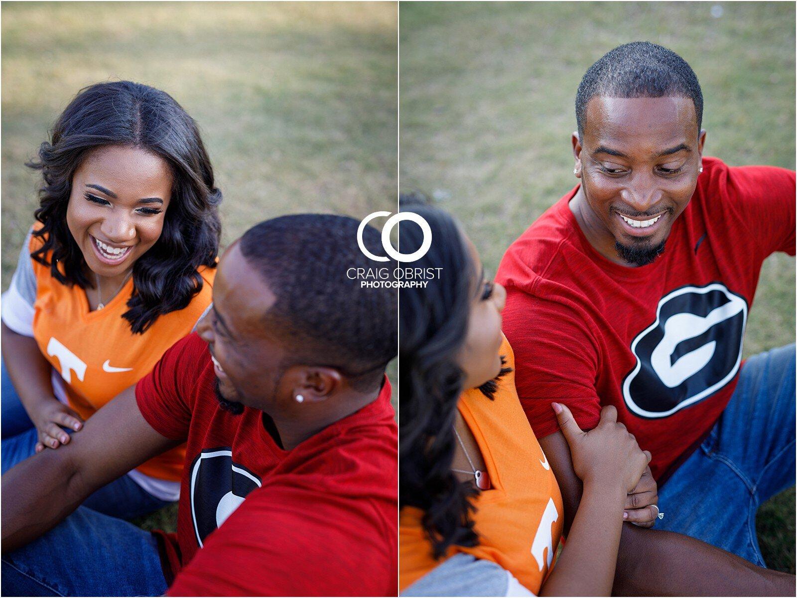 Piedmont Park Merecedes Benz Stadium Atlanta Skyline Enagagement Portraits_0003.jpg